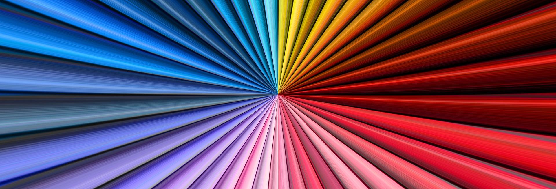 Farbspektrum des Lichts - bei Tauchlampen besonders wichtig